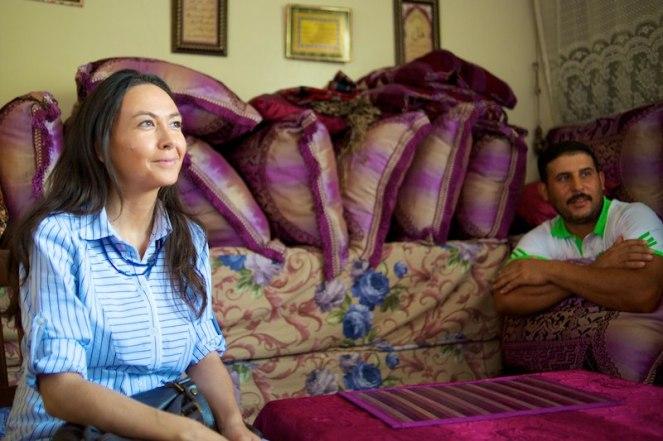 Irene Priolo in visita al Garibaldi 2