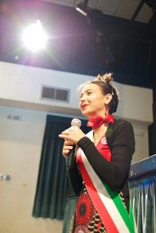 Irene Priolo alle celebrazioni delle Nozze d'Oro
