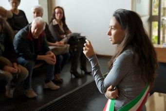 Irene Priolo in Sala Consiliare