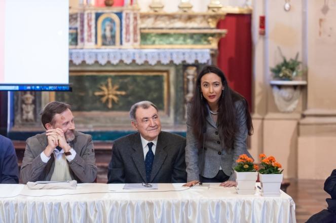 Sindaco Irene Priolo Convegno inaugurazione del Cippo del Triumvirato