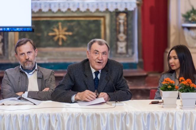 Rino Battistini, convegno inaugurazione del Cippo del Triumvirato