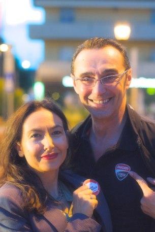 Irene Priolo e Giuseppe Giacobazzi
