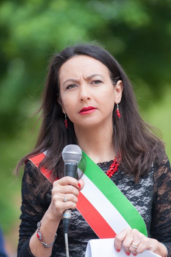 Irene Priolo alle Celebrazioni del 25 Aprile 2015