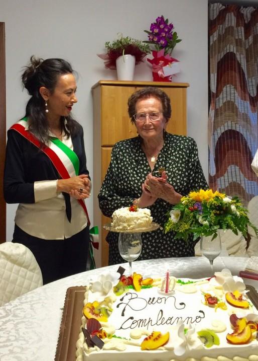 i 100 anni di Irene Bassoli