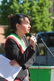Irene Priolo alle Celebrazioni del 25 Aprile 2016