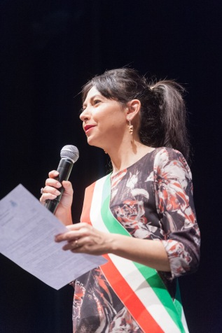 Irene Priolo alle Celebrazioni delle Nozze d'Oro 2016